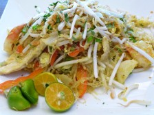 A colorful Pad Thai at Star Noodle Company, Lahaina