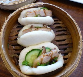 Pork buns at Star Noodle