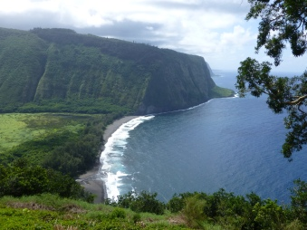The majestic Waipio Valley
