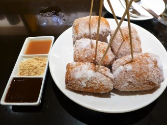 Save room for Star Noodle's famous Malasadas for dessert