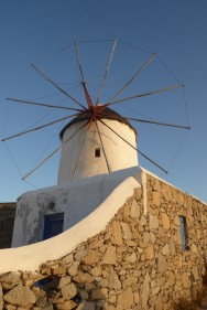 One of Mykonos' famous windmills