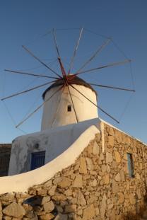 One of Mykonos' famous windmills