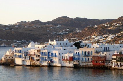 """Little Venice"", Mykonos"