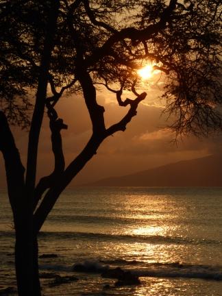 Moloka'i from the shores of Napili Bay