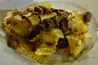 Handmade Pappardelle with Wild Boar Ragout