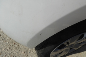 The infamous scratch on my rental car
