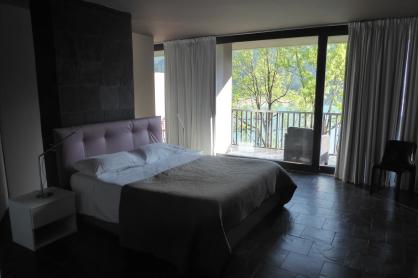 My room at the Maanja Lakeside Resort