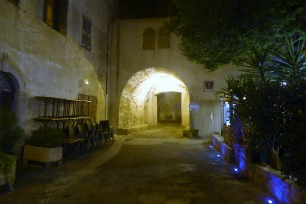Algajola by night