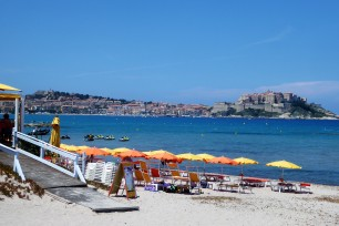 The beaches of Calvi