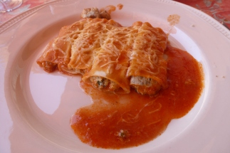 "The ""nothing to write Italy about"" canneloni"
