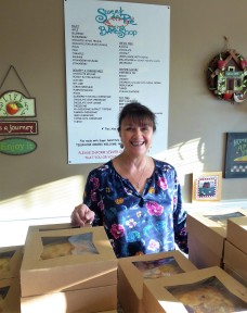 The charming owner of Sweet as Pie