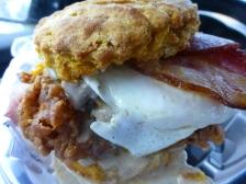 Breakfast at Handsome Biscuit, Norfolk, Virginia