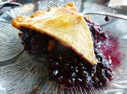 Save room for wild Maine blueberry pie!