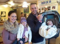 Daniel and Sarah and their beautiful daughters