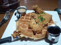 Chicken and Waffles at the Beer Kitchen, Kansas City