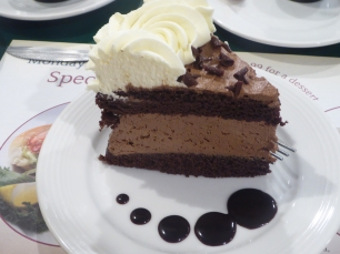 Have a slice of Gregg's Chocolate Mousse Cake