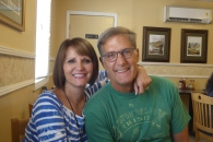 Diane and Greg, breakfast at Brother j's