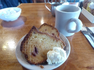 Strawberry Coffee Cake at the Barn