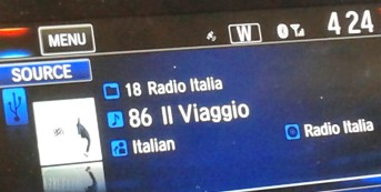 What's on your playlist during YOUR viaggio?
