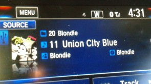 Blondie's salute to Union City, New Jersey