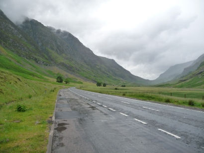 I'll take the high road... Scotland