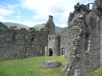 Inside Kilchurn