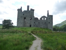 Kilchurn Castle near Glencoe