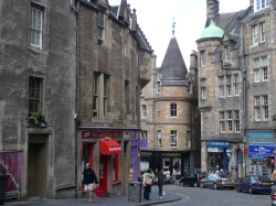 The sites of Edinburgh
