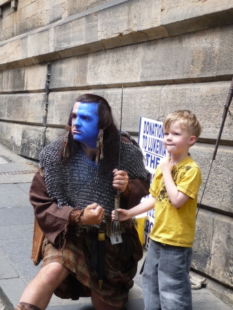 Braveheart is with us... everywhere!