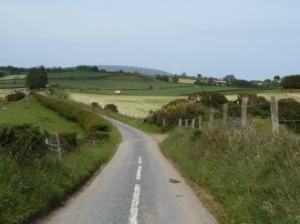 The narrow roads of Ulster