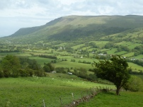 The green hills of County Antrim