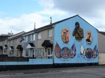 Unnerving sniper mural, Belfast