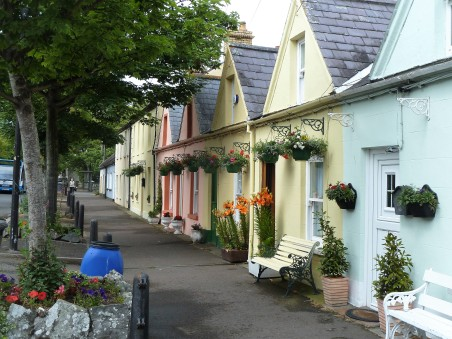 A picturesque village south of Belfast