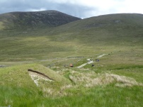 Hiking trails through the Mournes