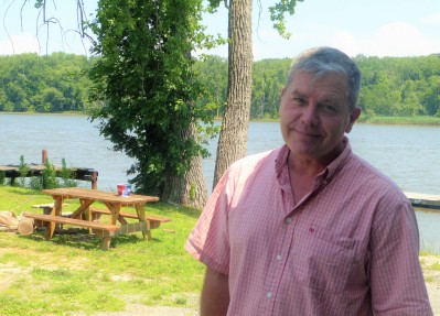 My friend Brent, the heartbeat of Lime Kiln Farm in Coxsackie, NY
