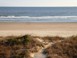 December on the Isle of Palms, South Carolina