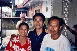 Anwar and his parents