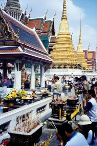 A Buddhist Temple in Bangkok