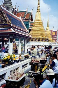 A Buddhist Temple in Bangkok