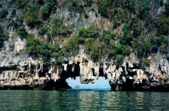 Amazing sea caves on the boat tour