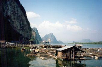 Muslim Sea Gypsy Village