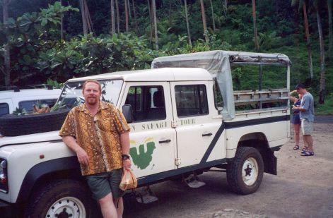 Matt on safari...