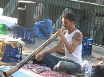 Didgeridoo player