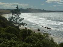 The northern coast