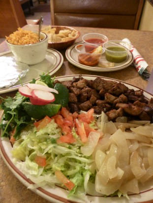 Dinner at Andele near Las Cruces