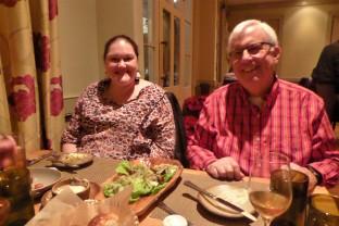 Angie and Brian at Husk