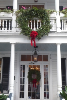 Husk decorated for Christmas