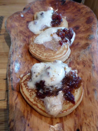 Hoe Cakes at Husk (Chestnut and cornmeal)