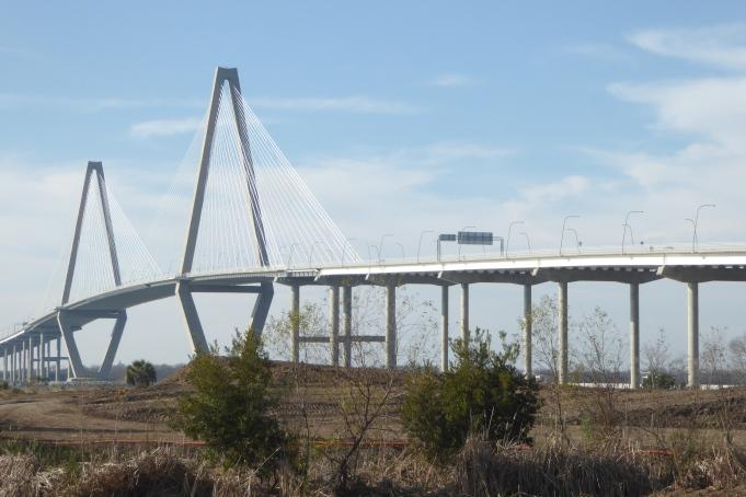 Heading north from Charleston