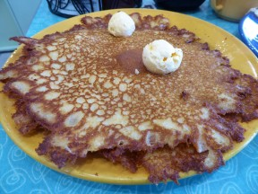 Pancakes at Pamela's of Pittsburgh